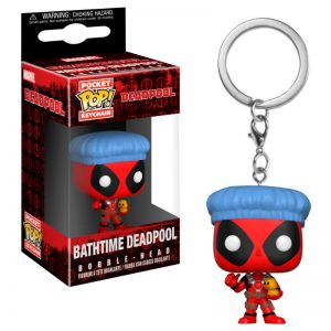 LLAVERO deadpool-bathtime