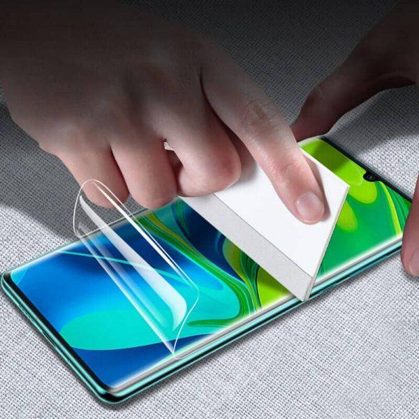 Protector de pantalla de gel para Xiaomi Mi Note 10 Lite